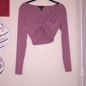 Forever 21 pink shirt